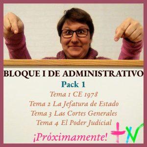 Administrativo Bloque I Pack 1